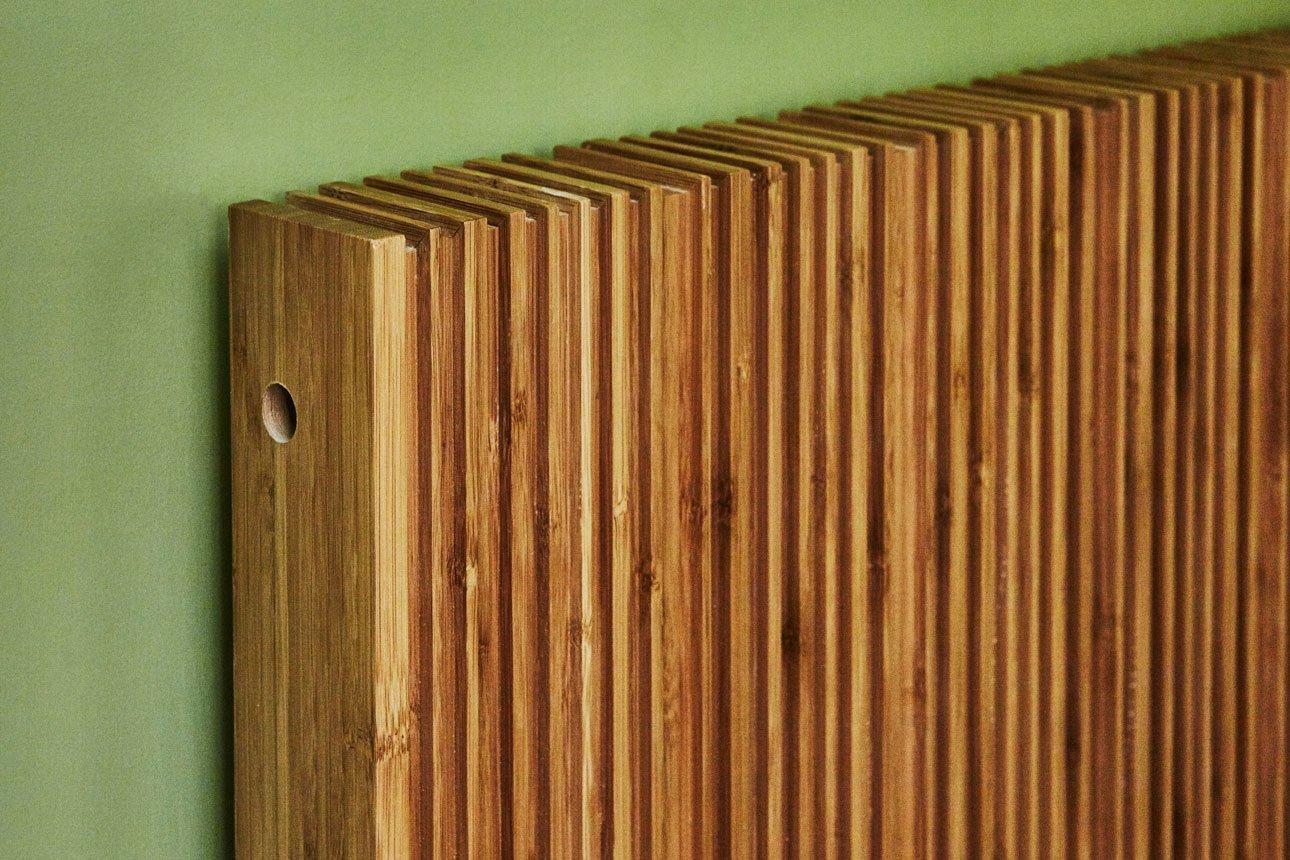 Bamboo style radiator