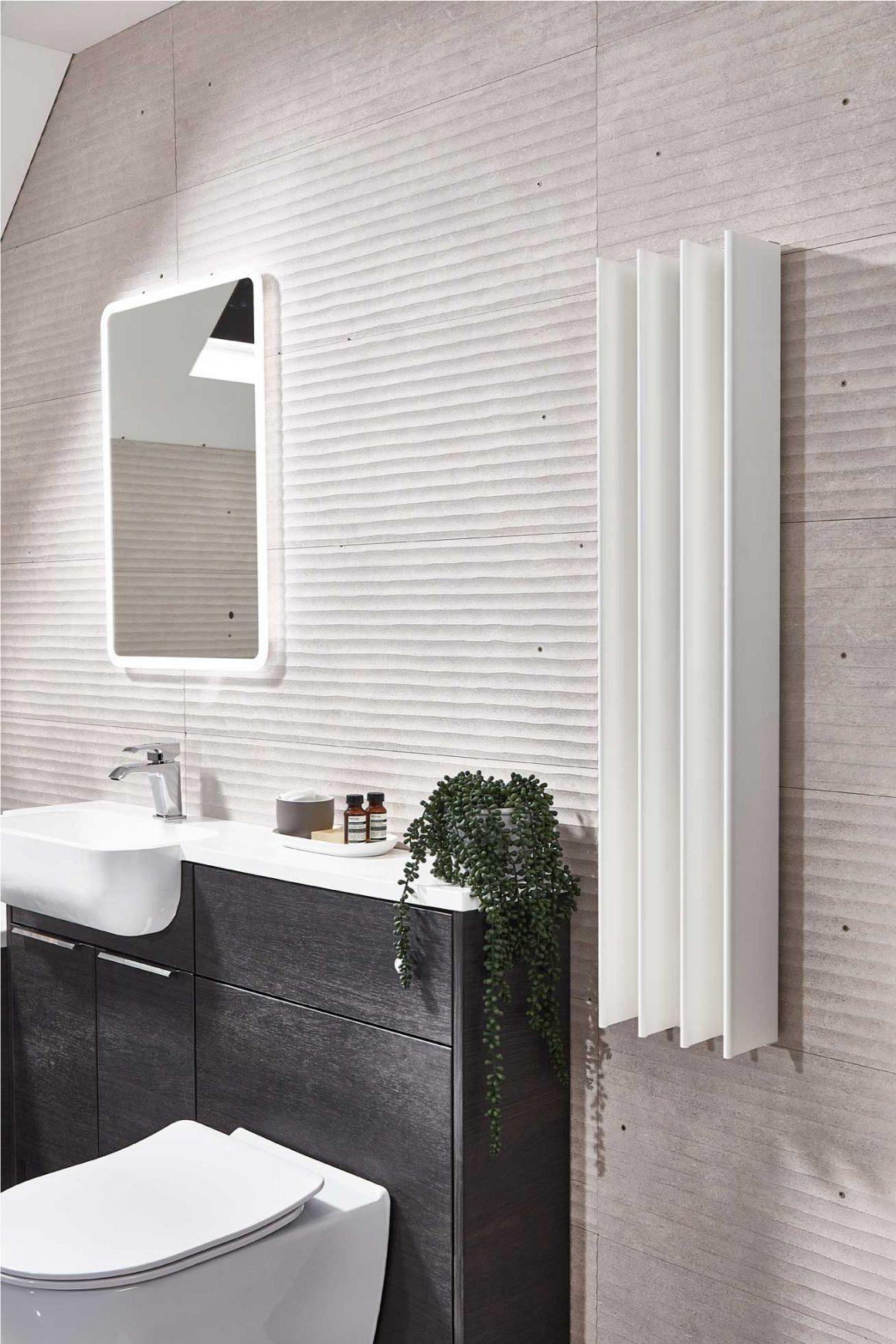 White Gordon in beautiful bathroom