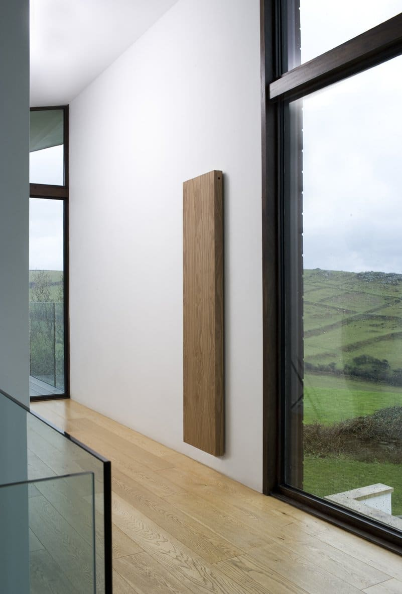 Beautiful radiator with a wooden finish