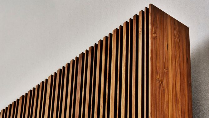 Wooden Electric Radiator