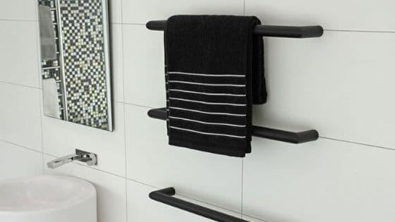 Individual heated towel rail