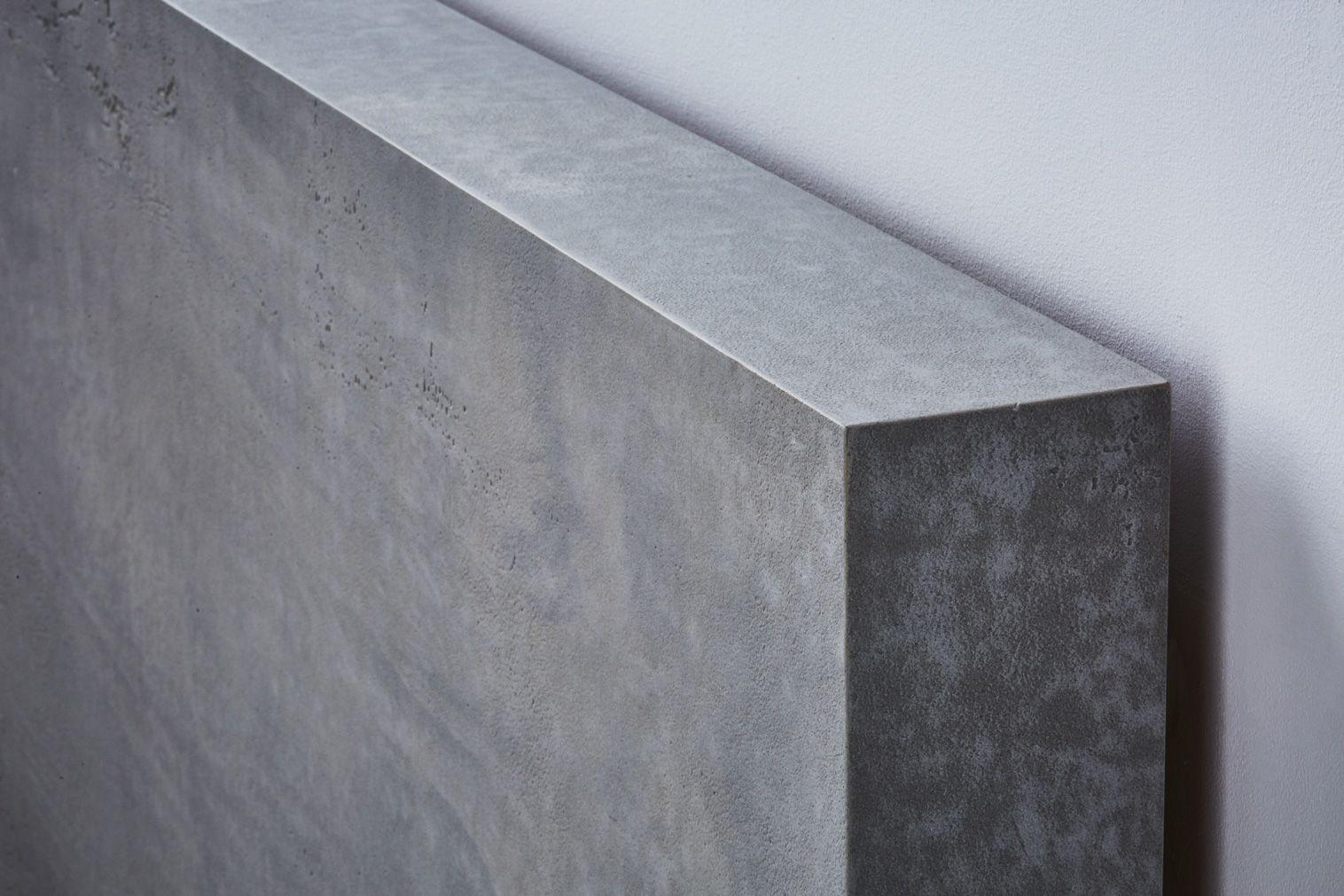 Concrete finish radiator