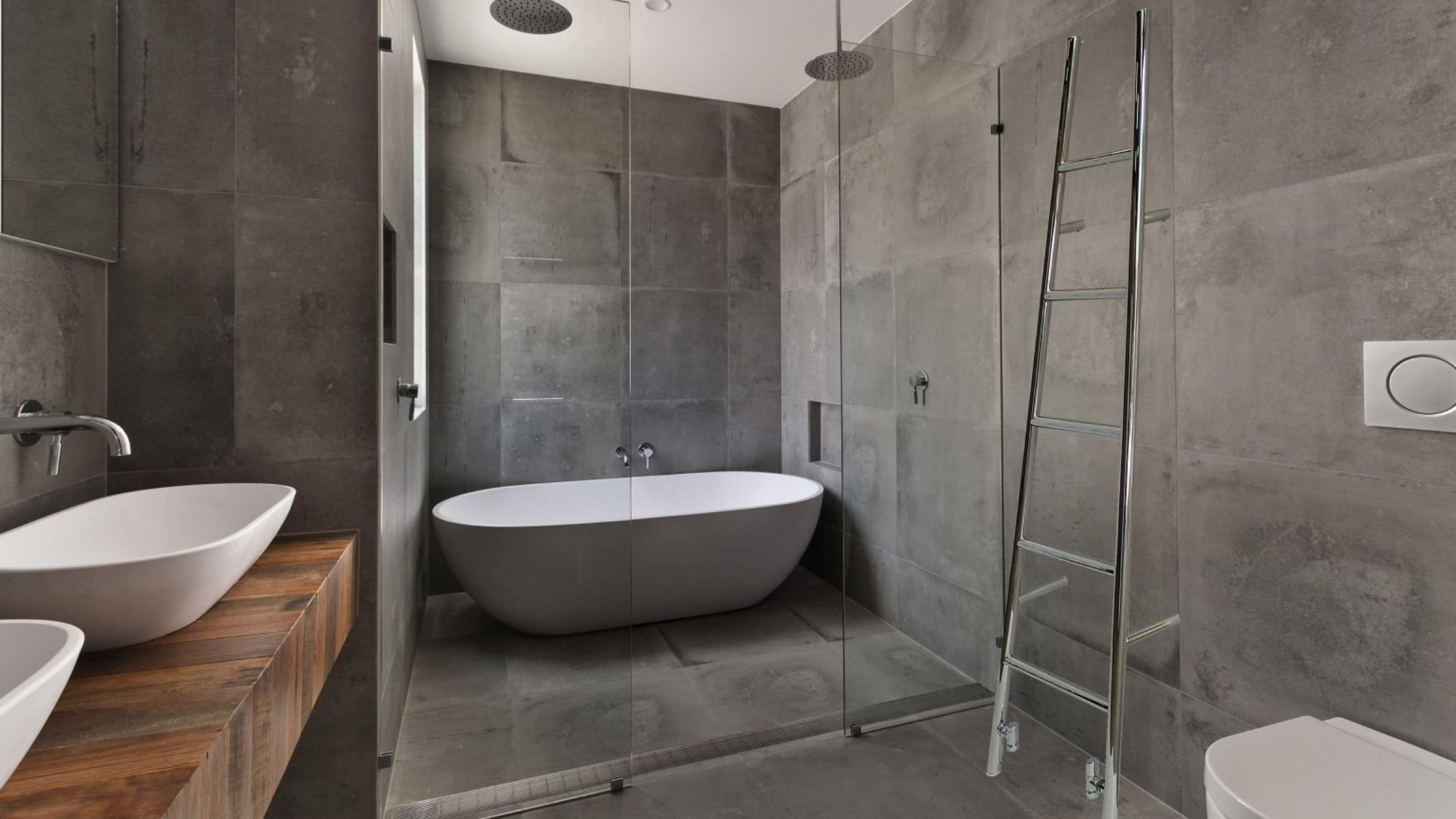 Different types of heated towel rails